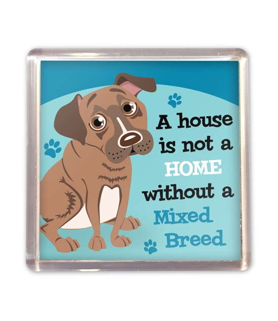 Top Dog Mixed Breed Magnet