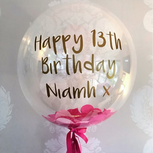 Personalised Balloons As per Click and Collect  £14.99 each