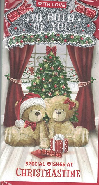 Christmas To Both of You Card - Special Wishes At Christmas Time!