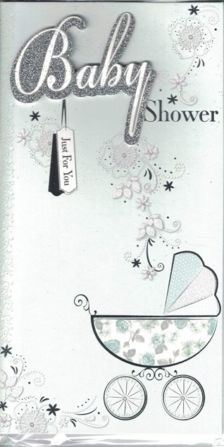Special Wishes For The Mum To Be Baby Shower Card - Baby Boy or Baby Girl Design