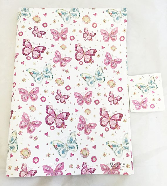 Gift Wrap 3 x Sheets for £1.00