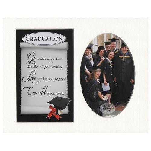 Photo Mount Graduation 10 x 8