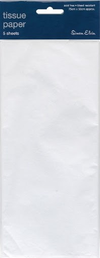 White Tissue Paper Pack Of 5 Sheets