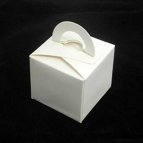 Ivory Favour/Gift Box – Pack of 10 - Off White