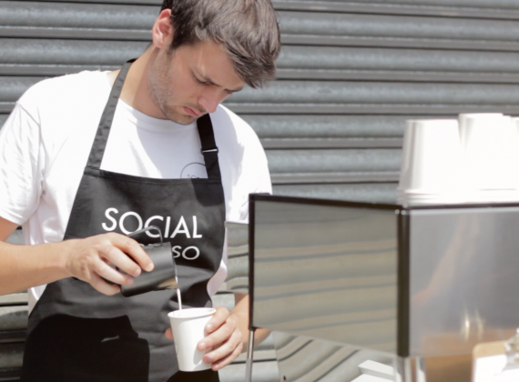 Social Pantry meets Social Espresso