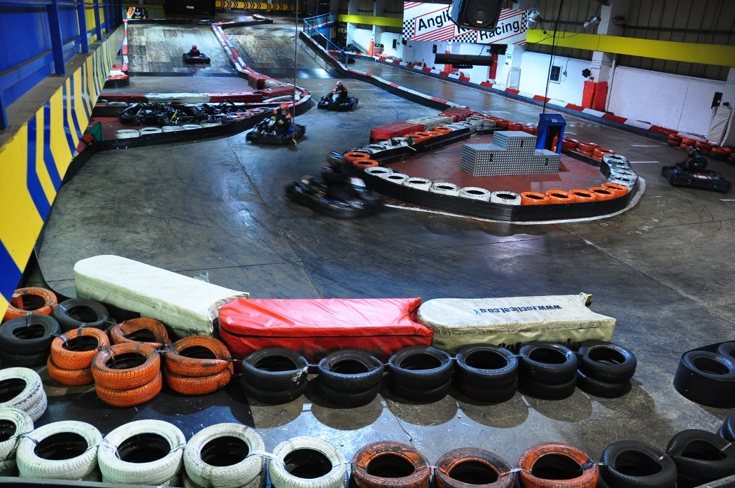 Go Karting with Anglia Karting