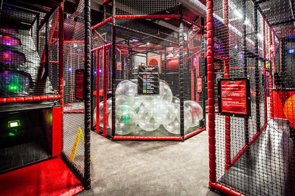 3. Arcades, Bowling and Ninja Tag at Superbowl UK