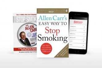 Stop smoking with Allen Carr by book, app or online video