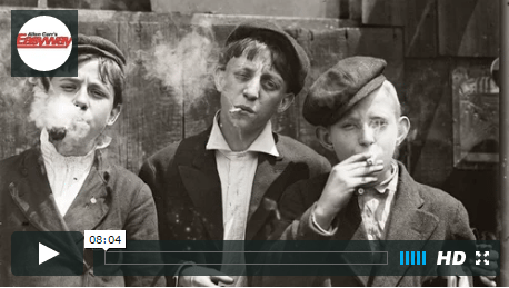 boys smoking 1920