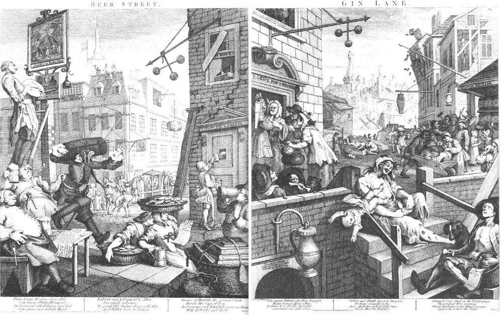 Beer Street & Gin Lane