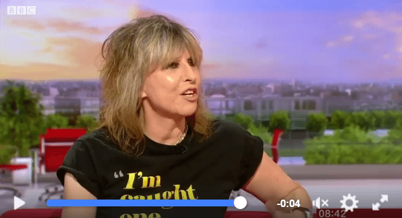 Chrissie Hynde BBC Breakfast 7.2.17