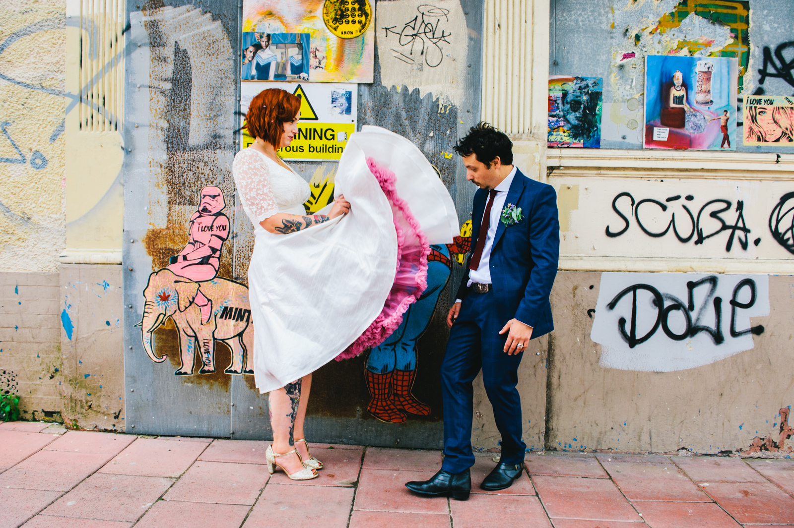 Fun wedding photography, Brighton wedding photographer, Allison Dewey Photography