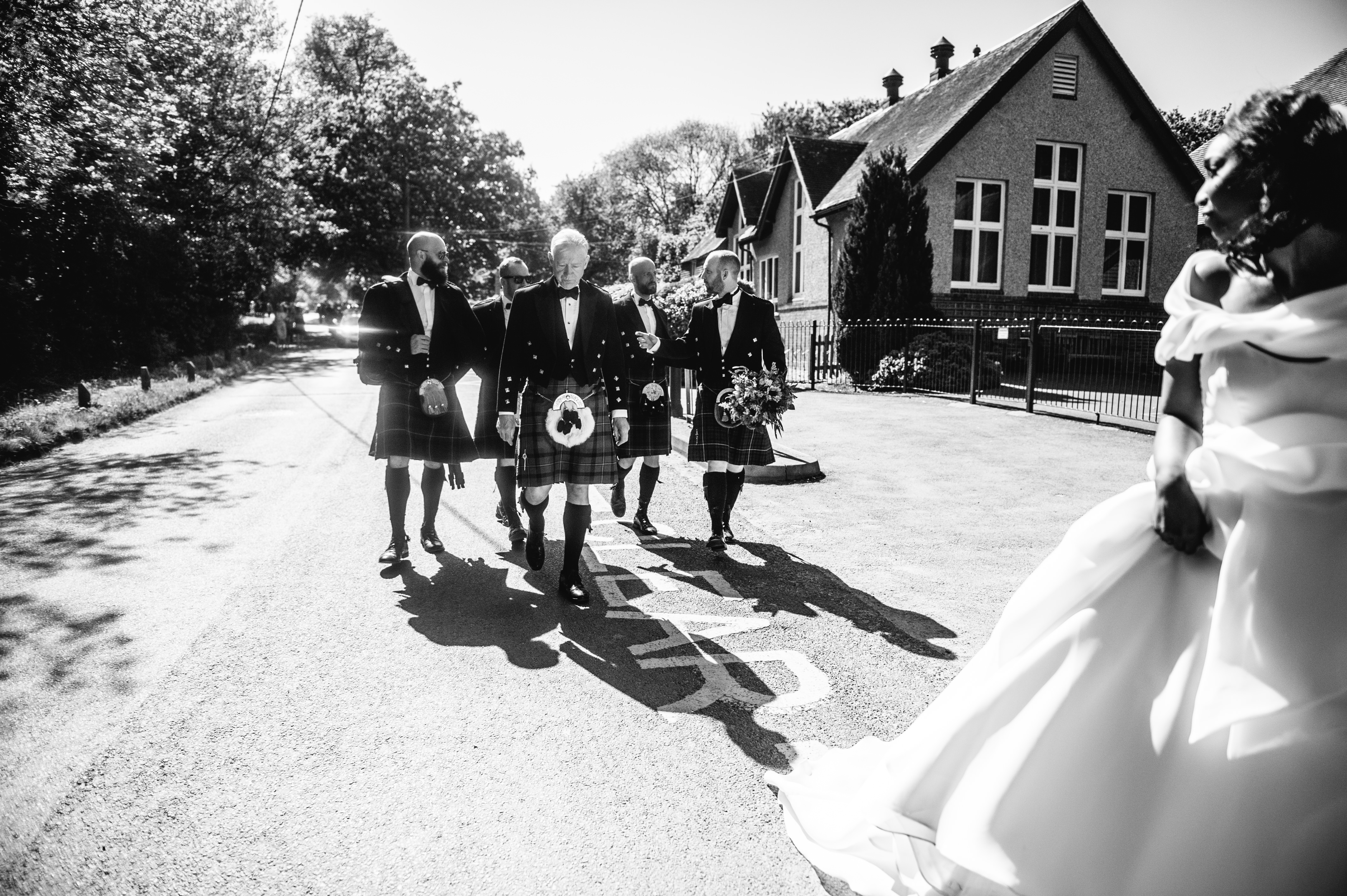 Fun wedding photographer Brighton, Rotherwick Church Wedding, Allison Dewey Photography