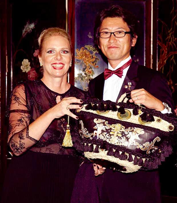 principessa Katharina di Jugoslavia e Cris Egger