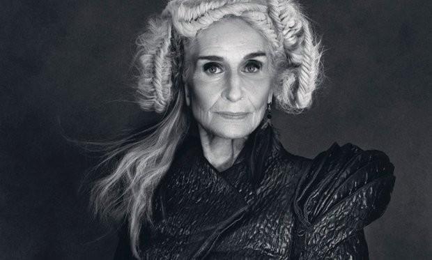 Dafne Selfe,old fashion model