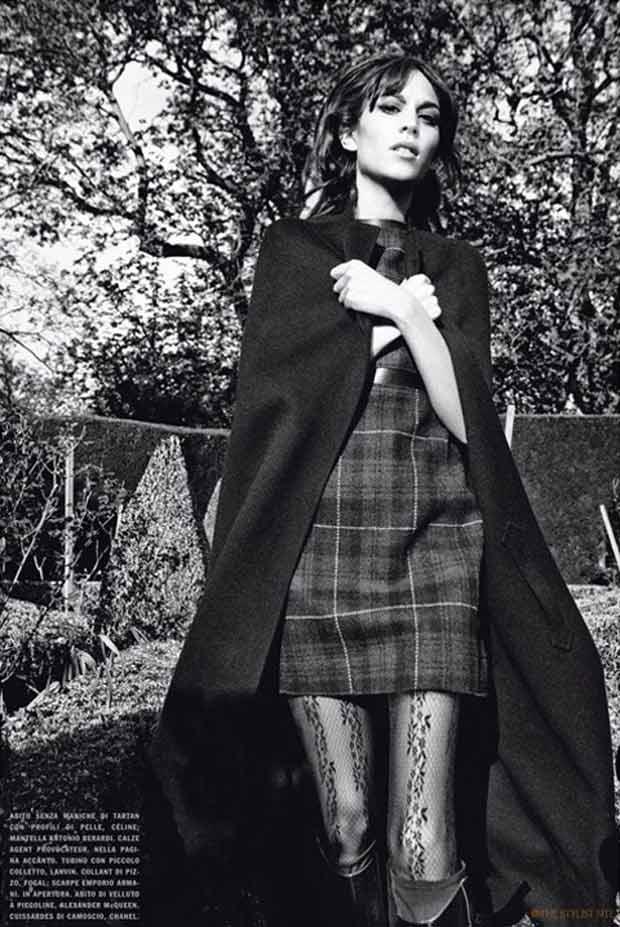 Alexa Chung Vogue