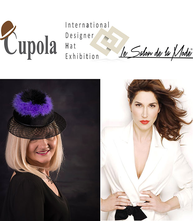 Cupola,Salon de la Mode.londra.International Designer Hat Exhibition