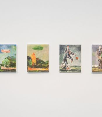 Fractured fantasies: Nicky Nodjoumi