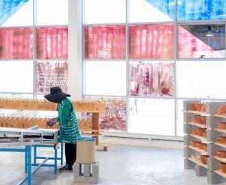 'Rhodiola' commission by Alserkal Arts Foundation opens in Alserkal Avenue