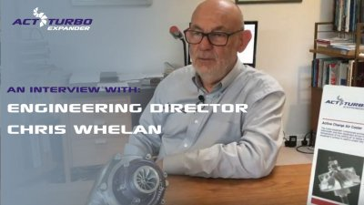 Interview with Chris Whelan, Engineering Director, Air Cycle Technology (Video)
