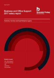 Business & Office Support Salary Report 2017