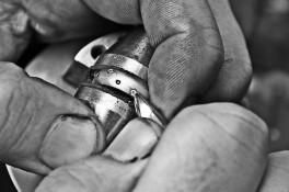 Diamond & Ruby Platinum Eternity Ring