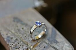 sapphire oval