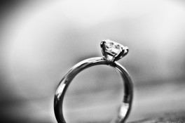 Compass Point White Gold Diamond Ring
