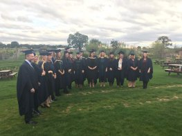 Graduates help HR firm celebrate 10-year-milestone