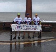 cHRysos HR's Pete Steadman cycles from Southport to Hornsea for charity!