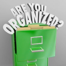Top 10 Tips for... Staying Organised at Work