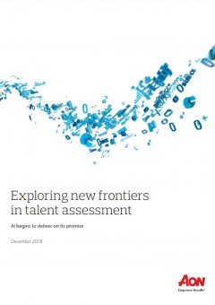 Exploring new frontiers in talent assessment