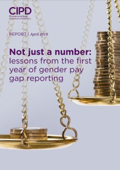 Not Just a Number: lessons from the first year of gender pay gap reporting