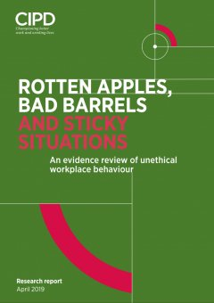 Rotten Apples, Bad Barrels and Sticky Situations: A review of unethical workplace behaviour