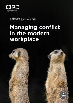 Managing conflict in the modern workplace