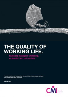 The Quality Of Working Life