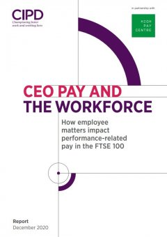 CEO Pay and the Workforce