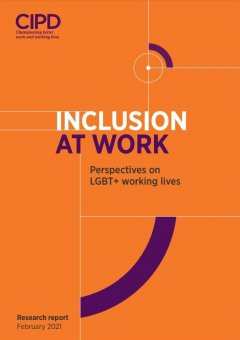 Inclusion at Work: Perspectives on LGBT+ Working Lives