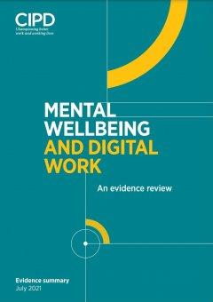 Mental Wellbeing and Digital Work