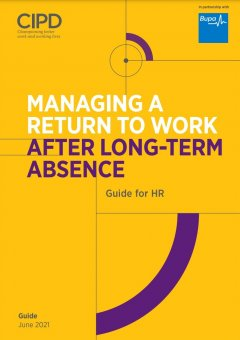 Managing a Return to Work After Long-term Absence