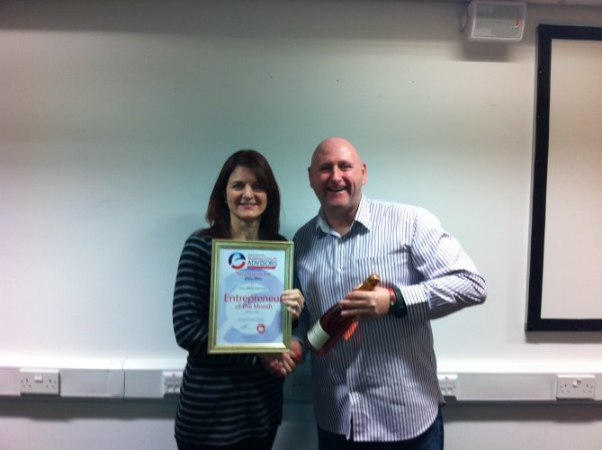 Entrepreneur of the Month Award #2