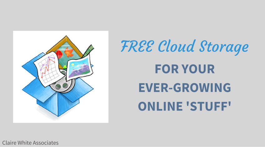 Free storage for your ever-growing online 'stuff'