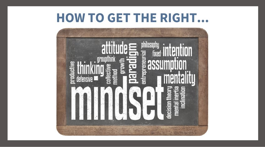 Developing the Right Mindset