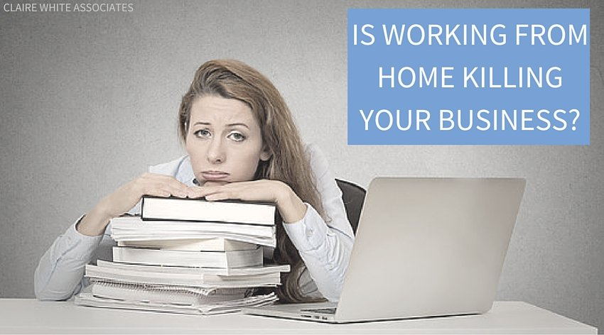 Is working from home killing your business?