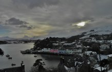 Winters Day in Portree