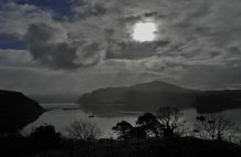 Sound of Raasay during the eclipse