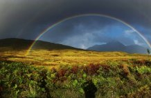Rainbows for August on Skye