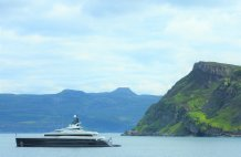 Elandess in the sound of Raasay