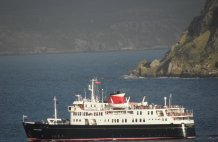 Hebridean Princess Visitior