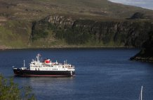 The Hebridean Princess - a regular! 24.05.14